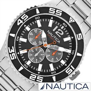 ノーティカ 腕時計 NAUTICA 時計 ノーティカ 時計 NAUTICA 腕時計 マルチ スポーツ アクティブ NST700 SPORT ACTIVE メンズ ブラック ホワイト A15656G アナログ シルバー おしゃれ 通販 アメリカン ブランド [ プレゼント ギフト 新生活 ]
