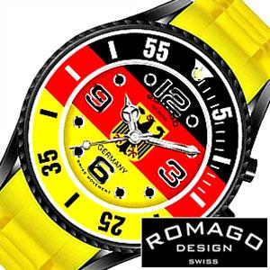 [11,000円引き][当日出荷] ロマゴ 時計 ROMAGO 時計 ロマゴ 腕時計 ROMAGO 腕時計 ロマゴデザイン ロマゴ デザイン ROMAGO DESIGN ロマゴデザイン時計 スーパーレジェーラ シリーズ ドイツ メンズ レディース ブラック レッド RM043-0412PL-GY [ プレゼント ギフト 2020 ]