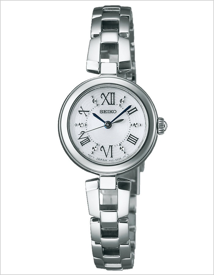 精工钟表SEIKO手表SEIKO钟表精工手表tise TISSE女士白SWFA151[设计时装玩笑喜爱的防水名牌礼物]