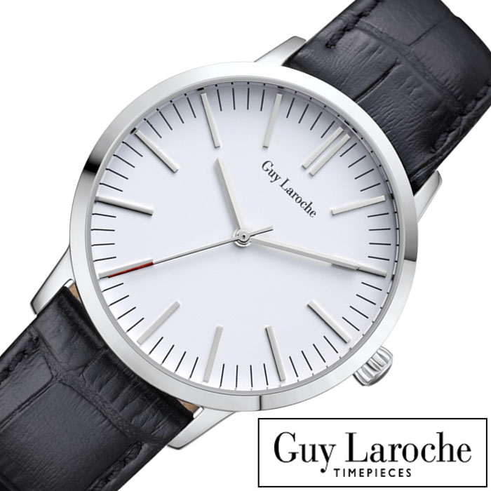 [当日出荷] ギラロッシュ腕時計 Guy Laroche時計 Guy Laroche 腕時計 ギラロッシュ 時計 レディース ホワイト L2004-01 アナログ TIMEPIECES レディースウォッチ ブラック シルバー 白 銀 3針 お祝い [ プレゼント ギフト 新生活 ]