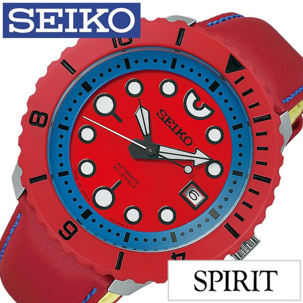 Seiko watches [SEIKO clock] (SEIKO watch Seiko Watch) spirit smart mechanical (SMART Mechanical SPIRIT) mens Watch / Red /SCVE015 [mechanical / automatic ...