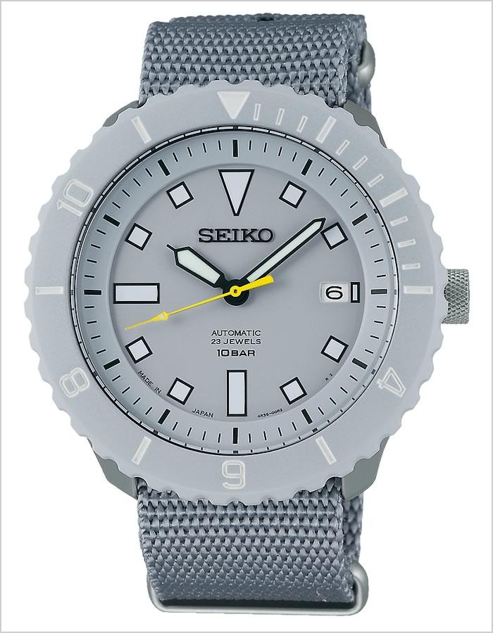Seiko watches [Seiko x Nano universe] SEIKO spirit mechanical SPIRIT Mechanical men and grey SCVE027 [Nano-universe / collaboration / mechanical / automated winding /SEIKO×nano-universe Limited Edition]