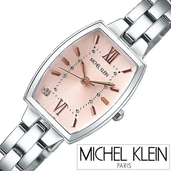 【5年保証対象】ミッシェルクラン腕時計 MICHELKLEIN時計 MICHEL KLEIN 腕時計 ミッシェル クラン 時計 レディース ピンク AJCK082 メタル ベルト クォーツ かわいい SEIKO ローズゴールド ピンクゴールド シルバー