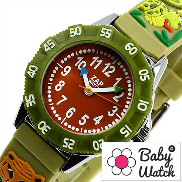 5324d797035 hstyle  Watch babewatch (Baby Watch watch baby watch Watch) (ZAP) zap  jungle boy   Watch   Red  BW-ZAP014