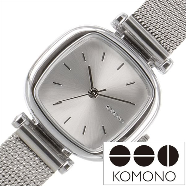 0159b70d5e メタル KOMONO insta 送料無料 コモノ ブランド 腕時計 人気 時計 ロイヤル ベルト 新作 シルバー トレンド シンプル