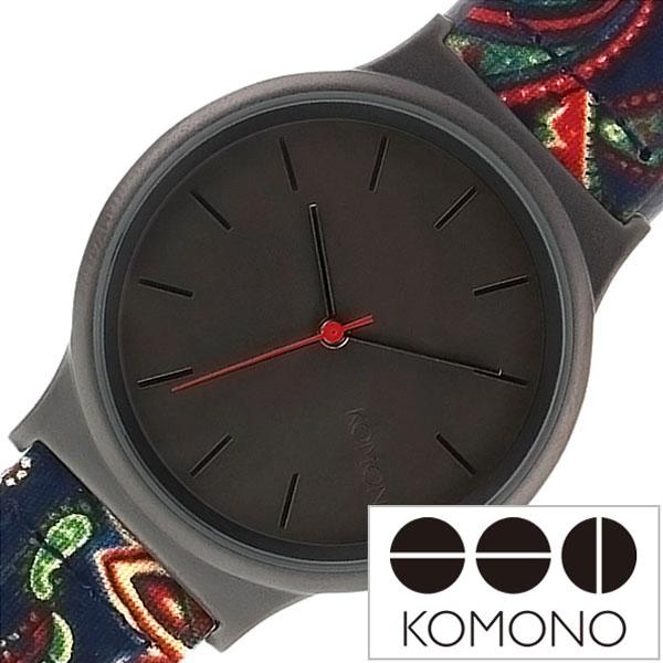 コモノ 腕時計 KOMONO 時計 コモノ 時計 KOMONO 腕時計 コモノ腕時計 ウィザード プリント シリーズ WIZARD PRINT SERIES レディース ブラック KOM-W1824 人気 新作 ブランド トレンド 革 ベルト レザー かわいい シンプル おしゃれ インスタ insta シンプル 薄型