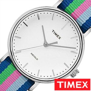 【延長保証対象】タイメックス 腕時計 TIMEX 時計 ウィークエンダー フェアフィールド メンズ ホワイト TW2P91700 [ NATO ベルト ナトー シンプル マルチ カラー シルバー ][ プレゼント ギフト 新春 2020 ]