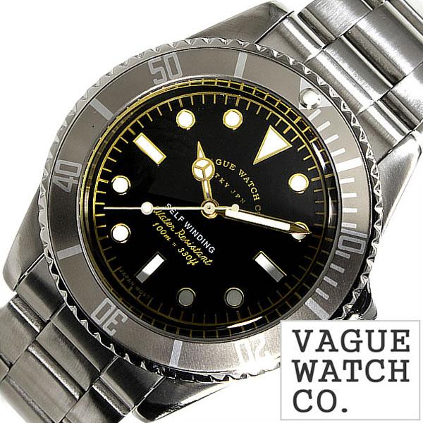[当日出荷] ヴァーグウォッチ 腕時計 VAGUEWATCH Co. 時計 ヴァーグ ウォッチ 時計 VAGUE WATCH Co. 腕時計 グレーフェド GRY FAD メンズ ブラック GF-L-001 バードウォッチ バーグウォッチ アンティーク メタル ベルト ナイロン シルバー [ プレゼント ギフト 新生活 ]