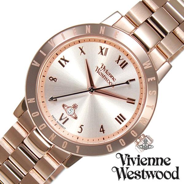 ヴィヴィアンウェストウッド 腕時計 VivienneWestwood 時計 ヴィヴィアン ウェストウッド 時計 Vivienne Westwood 腕時計 ヴィヴィアンウエストウッド レディース ピンク VV152RSRS メタル ベルト オーブ モチーフ オール ローズ ゴールド ピンクゴールド [ 新生活 ]