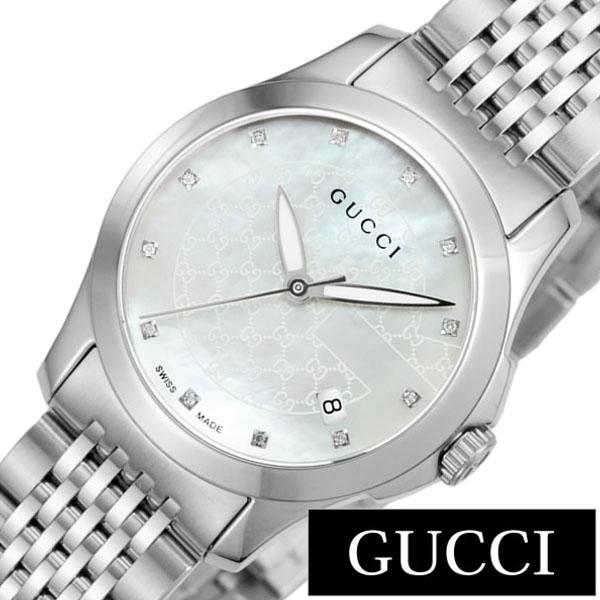cbab5412ec グッチ腕時計[GUCCI]時計Gタイムレス(GTimeless)レディース腕時計ホワイトYA126535[ ...
