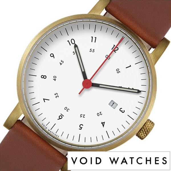 [当日出荷] ヴォイド 腕時計 VOID 時計 ヴォイド 時計 VOID 腕時計 ボイド メンズ レディース ホワイト VID020079 正規品 POS 人気 ブランド 革 レザー ペアウォッチ ユニセックス デザイナーズウォッチ ブラックブラウン [ プレゼント ギフト 新生活 ]