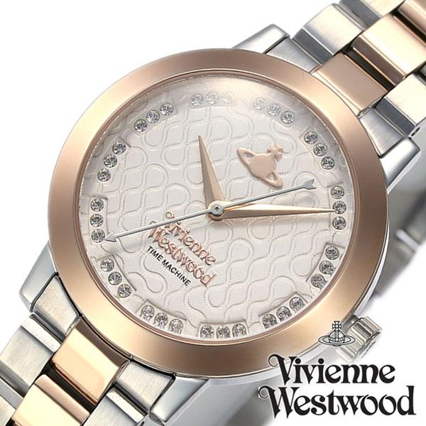 ヴィヴィアンウエストウッド 腕時計 VivienneWestwood 時計 ヴィヴィアン ウエストウッド 時計 Vivienne Westwood 腕時計 ブルームズベリー Bloomsbury レディース ホワイト VV152SRSSL 人気 ブランド かわいい メタル シルバー ローズゴールド ピンクゴールド 送料無料