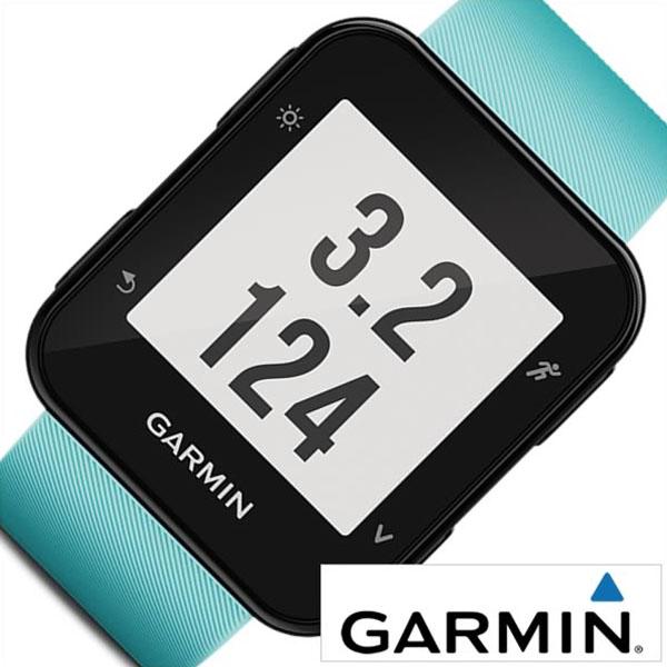 ガーミン 腕時計 GARMIN 時計 ガーミン 時計 GARMIN 腕時計 フォーアスリート 35J フロスト ブルー ForeAthlete 35J Frost Blue ユニセックス 液晶 010-01689-40 正規品 GPS スクエア スマートウォッチ スポーツ カレンダー ラバー 水色 送料無料