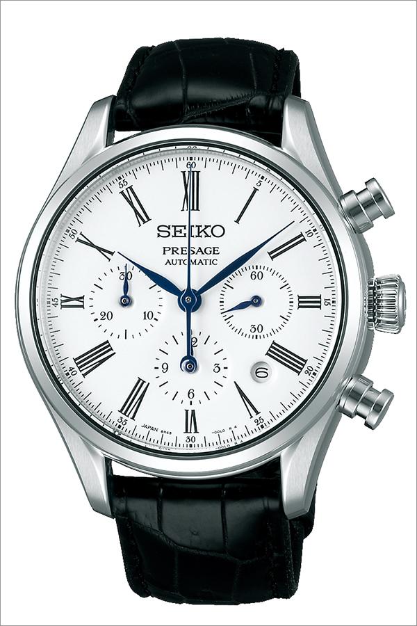 セイコー プレザージュ 腕時計 SEIKO PRESAGE 時計 プレサージュ 腕時計 メンズ ホワイト SARK013 [ セイコー腕時計 メカニカル 機械式 自動巻 腕時計 ビジネス カジュアル スーツ ドレス かっこいい おしゃれ 男性 女性 ベルト アナログ  ]