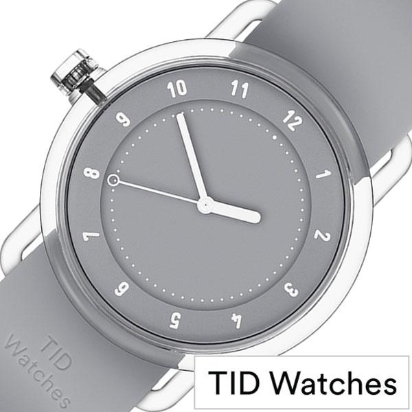[当日出荷] 【5年保証対象】ティッドウォッチズ 腕時計 TIDwatches 時計 ティッド ウォッチズ 時計 TID watches 腕時計 ナンバースリー NO3 メンズ レディース グレー TID03-38GY 正規品 人気 クリア ラバー 夏 ティッドウォッチシンプル おしゃれ カスタム