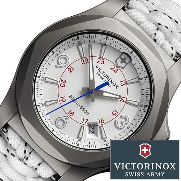 [当日出荷] ビクトリノックス 腕時計 VICTORINOXSWISSARMY 時計 ビクトリノックス スイスアーミー 時計 VICTORINOX SWISSARMY 腕時計 イノックス I.N.O.X. TITANIUM SKY HIGH LIMITED EDITON メンズ ホワイト 241772.1 替えベルト タイタニウム チタン 限定