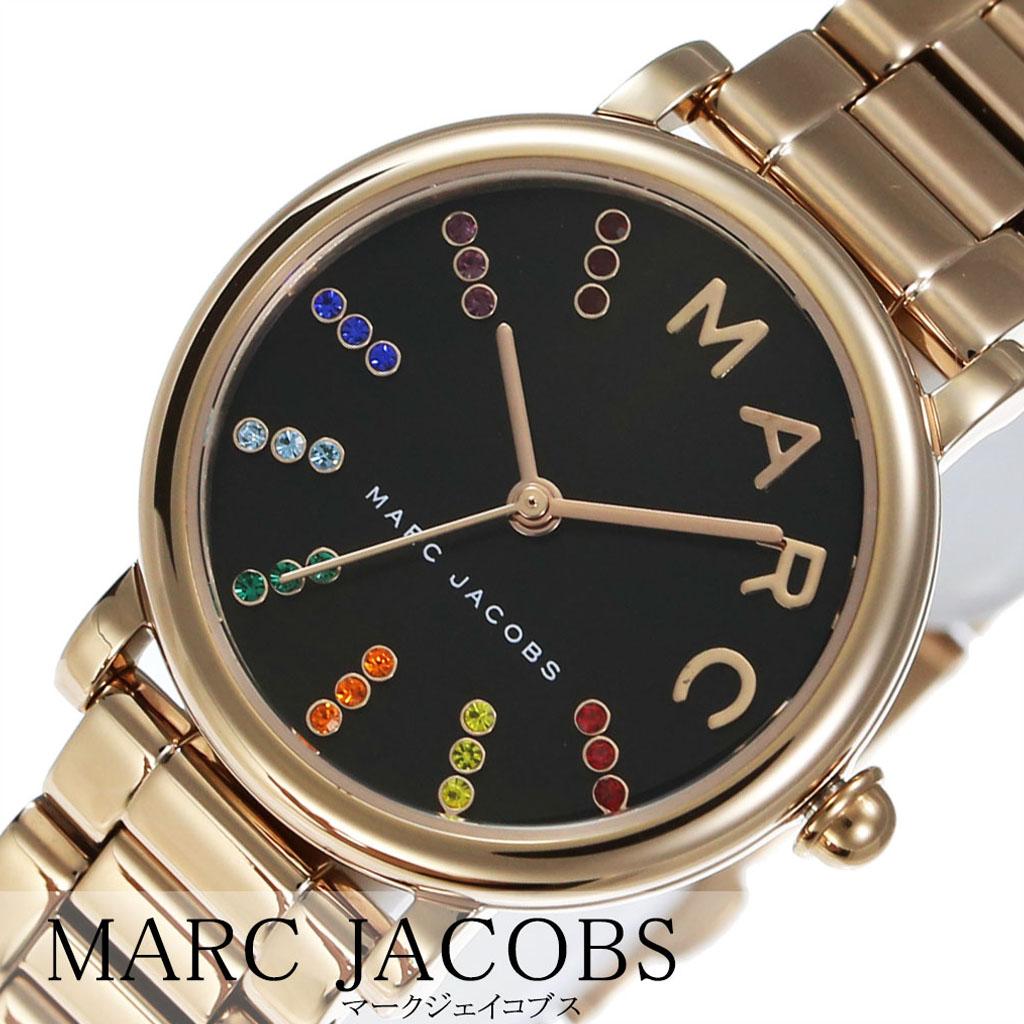 マークジェイコブス 腕時計 MARCJACOBS 時計 マーク ジェイコブス 時計 MARC JACOBS 腕時計 クラシック CLASSIC レディース ブラック MJ3569 人気 流行 ブランド 防水 革 レザー ピンク ゴールド ストーン ロキシー ROXY 双子 ペア カップル ラウンド ギフト