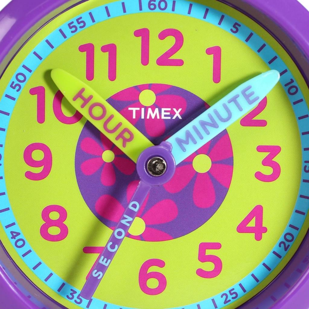 【5年保証対象】タイメックス 腕時計 TIMEX 時計 タイメックス 時計 TIMEX 腕時計 タイムティーチャー ボックスセット TIME TEACHERS BOX SET キッズ 女の子 レディース ホワイト TWG014800 定番 ブランド 人気 KIDS 子供用 時計 お花 紫 ピンク プレゼント ギフト