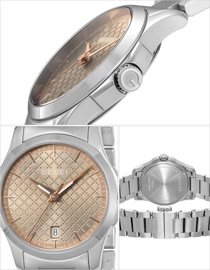 グッチ 腕時計 GUCCI 時計 グッチ 時計 GUCCI 腕時計 Gタイムレス G-TIMELESS レディース/ブラウン YA126594 [ 人気 イタリア ブランド 高級 メタル 防水 おすすめ ファッション プレゼント ギフト ] [ ]