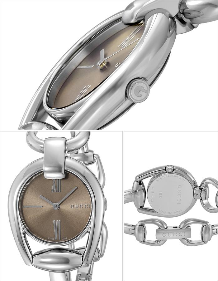 グッチ 腕時計 GUCCI 時計 グッチ 時計 GUCCI 腕時計 ホースビット HORSEBIT レディース/ブラウン YA139501 [ 人気 イタリア ブランド 高級 メタル 防水 おすすめ ファッション プレゼント ギフト ] [ ]