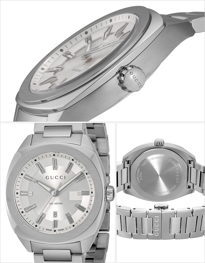 グッチ 腕時計 GUCCI 時計 グッチ 時計 GUCCI 腕時計 GG2570 レディース/シルバー YA142402 [ 人気 イタリア ブランド 高級 メタル 防水 おすすめ ファッション プレゼント ギフト ] [ ]