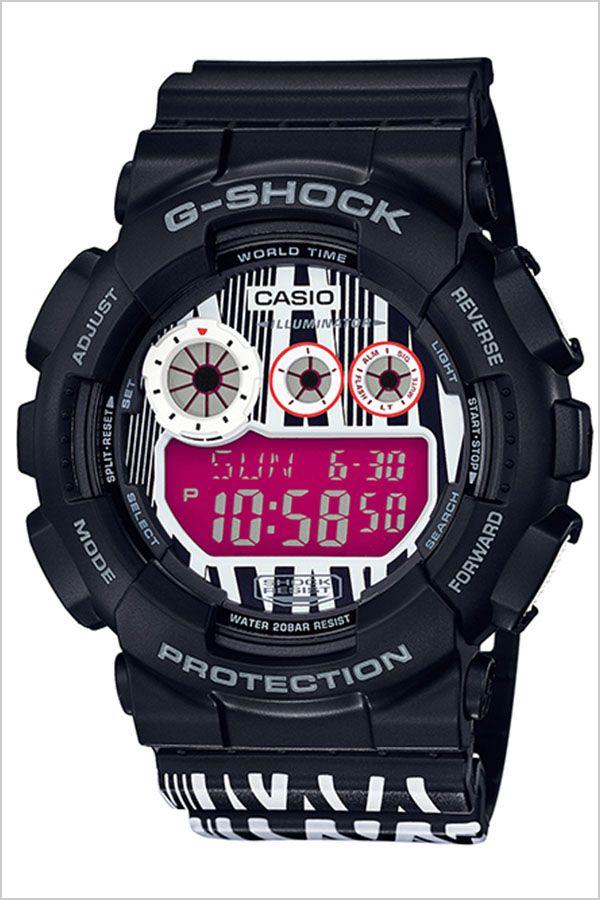 【延長保証対象】カシオ 腕時計 CASIO 時計 カシオ時計 カシオ腕時計 ジーショック マーロック G-SHOCK MAROK メンズ 腕時計 ホワイト GD-120LM-1AJR [ ブランド コラボ 限定モデル 耐衝撃 Gショック アウトドア LED バックライト モノトーン デザイナー ブラック ]