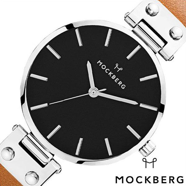 [当日出荷] モックバーグ 腕時計 MOCKBERG 時計 MOCKBERG腕時計 モックバーグ腕時計 オリジナル Originals Wera Black レディース ブラック MO112 [ 恋 カップル クラシック ビジネス スーツ アクセサリー レザー シルバー ライトブラウン プレゼント ギフト 新生活 ]
