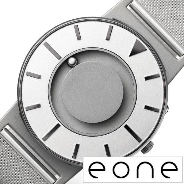 イーワン 腕時計 EONE時計 EONE 腕時計 イーワン 時計 ブラッドリー メッシュ アイリス BRADLEY MESH IRIS メンズ レディース ホワイト BR-COM-IRIS2 [ 正規品 デザインウォッチ おしゃれ タッチ ラウンド カジュアル ステンレス メタルバンド プレゼント ギフト ]