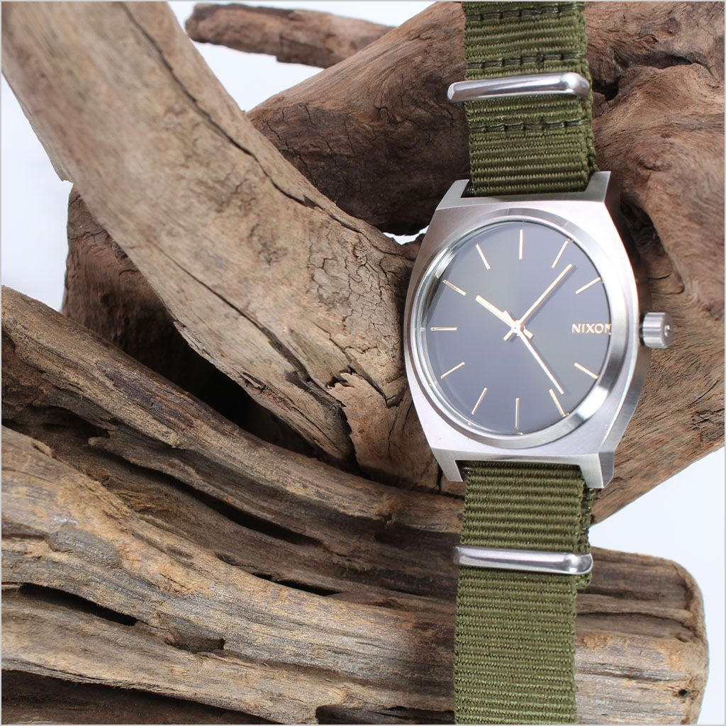 ナイロン ナトー 替えベルト 腕時計 ベルト NYLON NATO BELT 腕時計ベルト 時計バンド ベルト カーキ 20mm メンズ レディース 男女兼用 BT-NYL-KH-SV-20 [ 高品質 替えベルト カジュアル ファッション おしゃれ ビジカジ アウトドア ミリタリー 休日 オフ ]