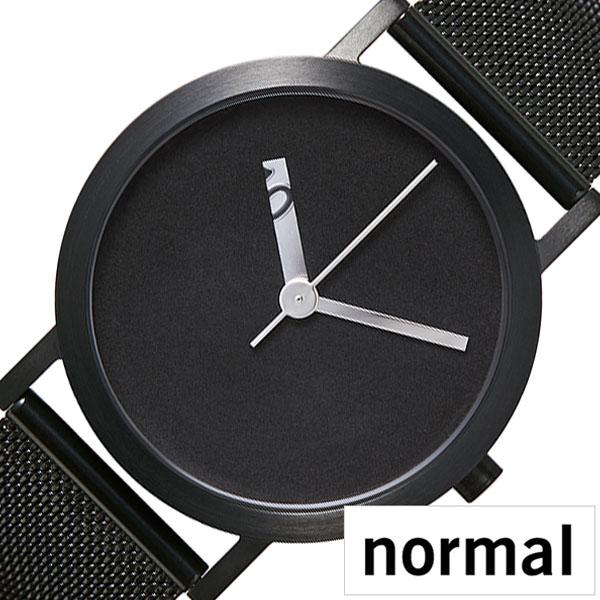 ノーマルタイムピーシーズ 腕時計 normal TIMEPIECES 腕時計 ノーマルタイムピーシーズ 時計 エクストラノーマル グランデ EXTRA NORMAL GRANDE メンズ レディース ブラック NML020077 [ ブランド 北欧 デザイン デザイナーズ シンプル メタル ベルト ]