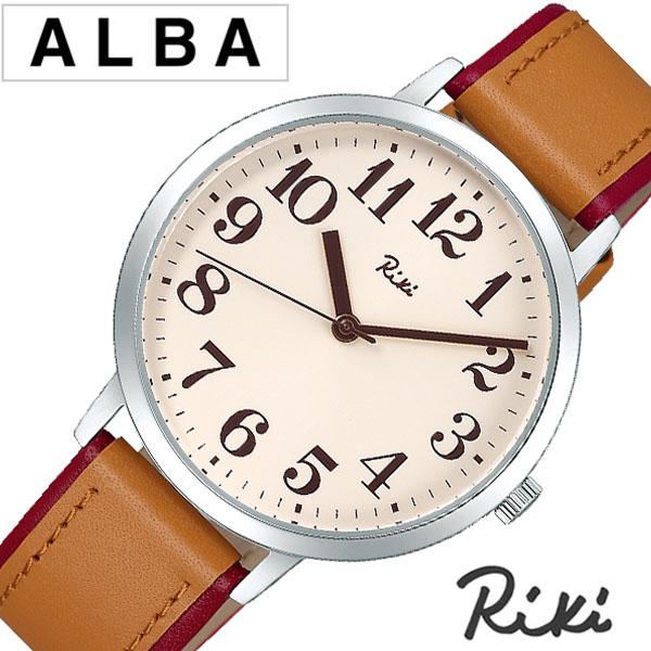 【延長保証対象】セイコー 腕時計 SEIKO 時計 SEIKO腕時計 セイコー時計 アルバ リキ ALBA Riki メンズ ベージュ AKPK434 [ アナログ シンプル 伝統色 シリーズ プレゼント ペア ギフト ラウンド ビジネス ファッション カジュアル シンプル 人気 ]