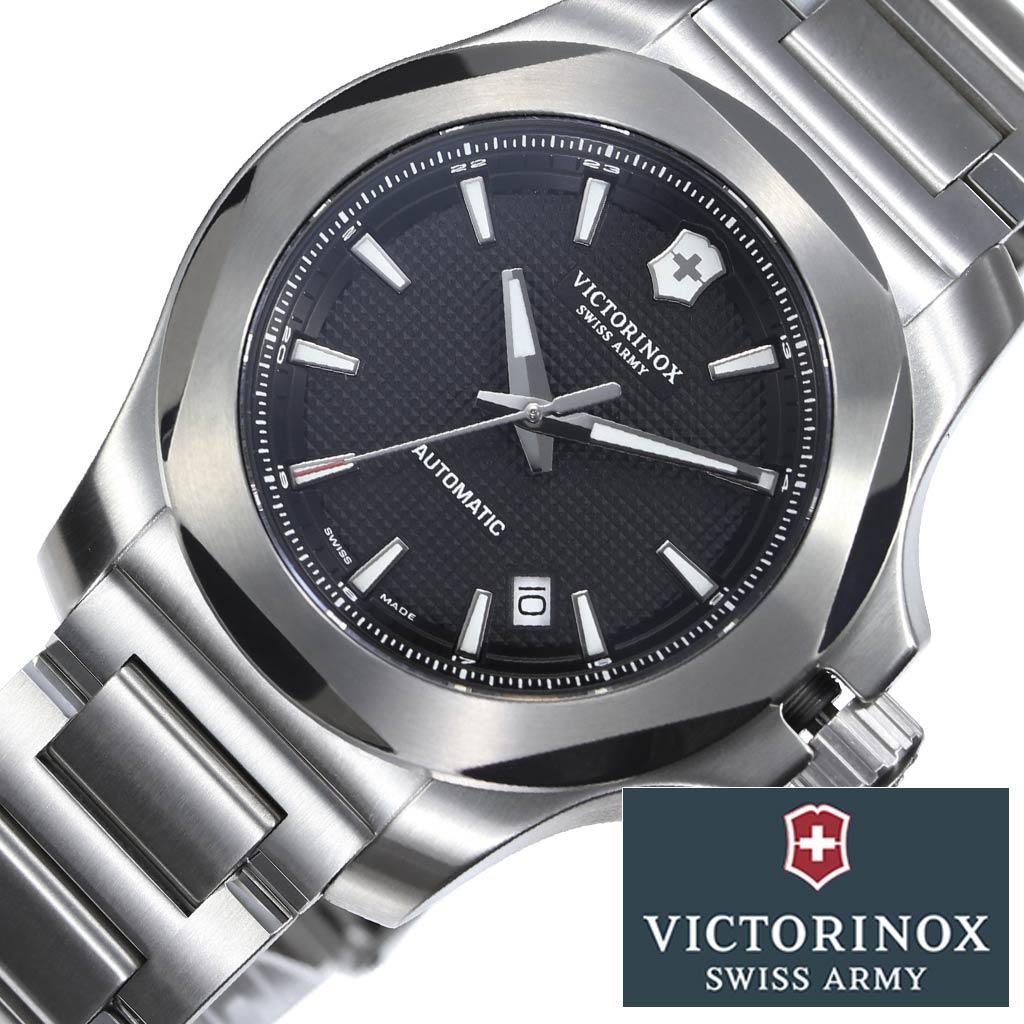 ビクトリノックス スイスアーミー 腕時計 VICTORINOXSWISSARMY 時計 VICTORINOX SWISSARMY 腕時計 イノックス メカニカル I.N.O.X. Mechanical メンズ ブラック VIC-241837 [ メンズ腕時計 腕時計メンズ アナログ 防水 ミリタリー カジュアル ビジネス ]