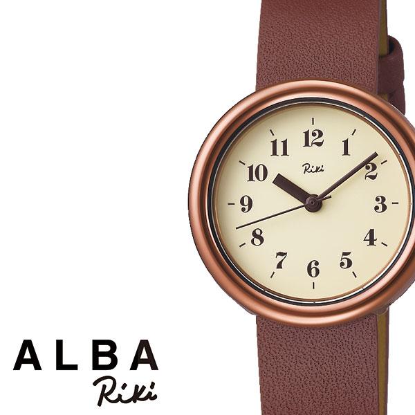【延長保証対象】セイコー 腕時計 SEIKO 時計 SEIKO腕時計 セイコー時計 アルバ リキ ALBA RIKI レディース ベージュ AKQK450 [ ゴールド 革 シンプル 人気 プレゼント ギフト アナログ ラウンド かわいい ファッション カジュアル ビジネス ]