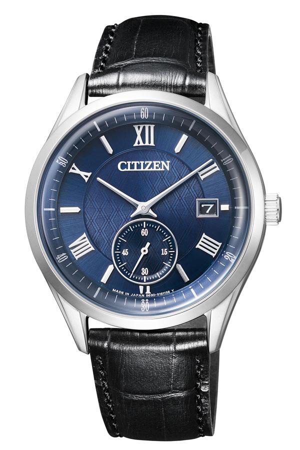【延長保証対象】シチズン 腕時計 CITIZEN 時計 CITIZEN腕時計 シチズン時計 シチズン コレクション CITIZEN COLLECTION メンズ ネイビー BV1120-15L [ シルバー エコ・ドライブ シンプル ブランド ギフト アナログ ラウンド カレンダー ファッション カジュアル ビジネス ]