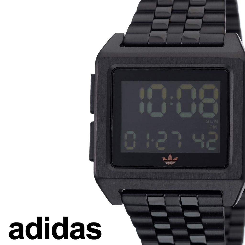 [当日出荷] アディダス 腕時計 adidas 時計 adidas腕時計 アディダス時計 アーカイブエム1 ARCHIVE_M1 メンズ レディース ブラック Z01-3077-00 [ 人気 お洒落 流行 ブランド ピンク シンプル デジタル カジュアル スタイリッシュ ストリート ] [ プレゼント ギフト ]