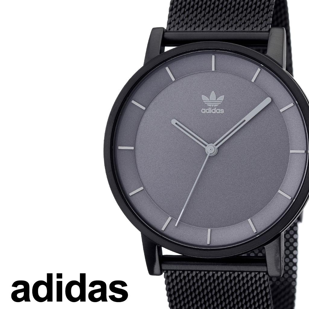 [3800円引き]アディダス 腕時計 adidas 時計 adidas腕時計 アディダス時計 ディストリクトエム1 DISTRICT_M1 メンズ レディース グレー [ 人気 お洒落 流行 ブランド ラウンド シンプル アナログ カジュアル スタイリッシュ ストリート ][ プレゼント ギフト 新春 2020 ]