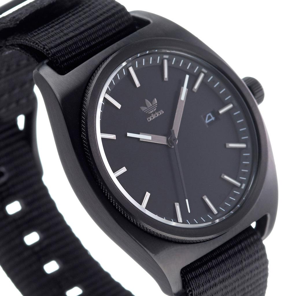 アディダス 腕時計 adidas 時計 adidas腕時計 アディダス時計 プロセス PROCESS_W2 メンズ レディース ブラック Z09-2341-00 [ 人気 お洒落 流行 ブランド ラウンド シンプル アナログ カジュアル スタイリッシュ ストリート ギフト プレゼント ]