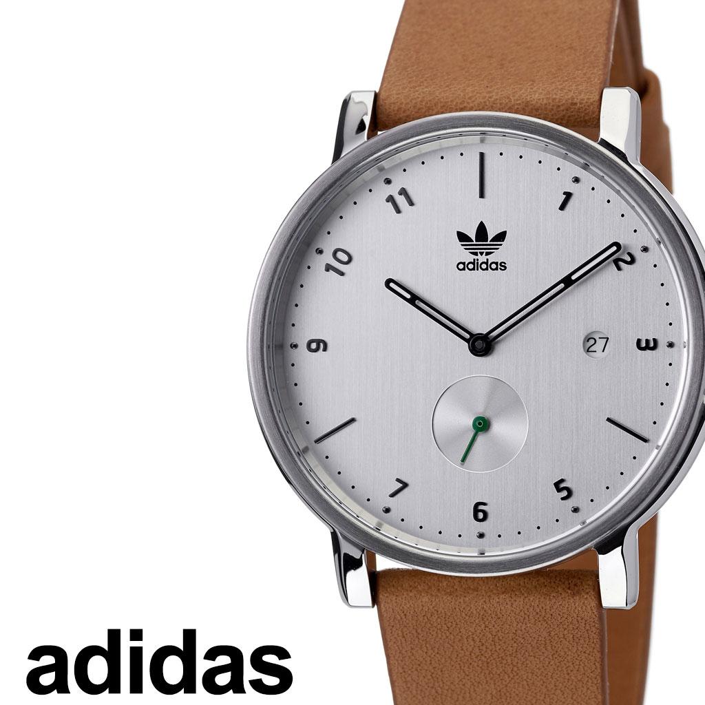 アディダス 腕時計 adidas 時計 adidas腕時計 アディダス時計 ディストリクトエルエックス2 DISTRICT_LX2 メンズ レディース シルバー Z12-3039-00 [ 人気 お洒落 ブランド ラウンド シンプル アナログ カジュアル スタイリッシュ プレゼント ギフト 新春 2020 ]