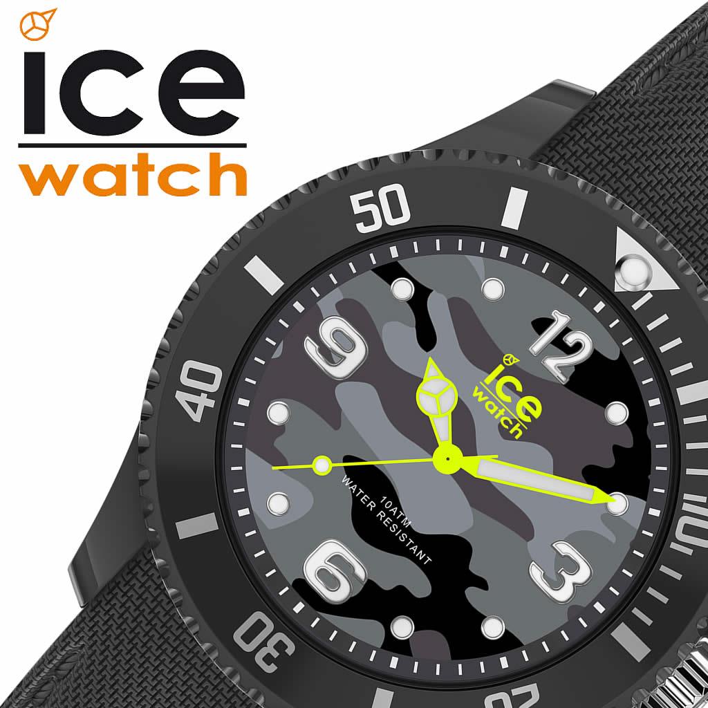[当日出荷] ICEWATCH 腕時計 アイスウォッチ 時計 アイスバストーニュ アントラシート ミディアム ICE Bastogne anthracite M ユニセックス 腕時計 迷彩柄 ICE-016292 [サマー スポーツ カジュアル ご褒美 おしゃれ ] [ プレゼント ギフト 新生活 ]