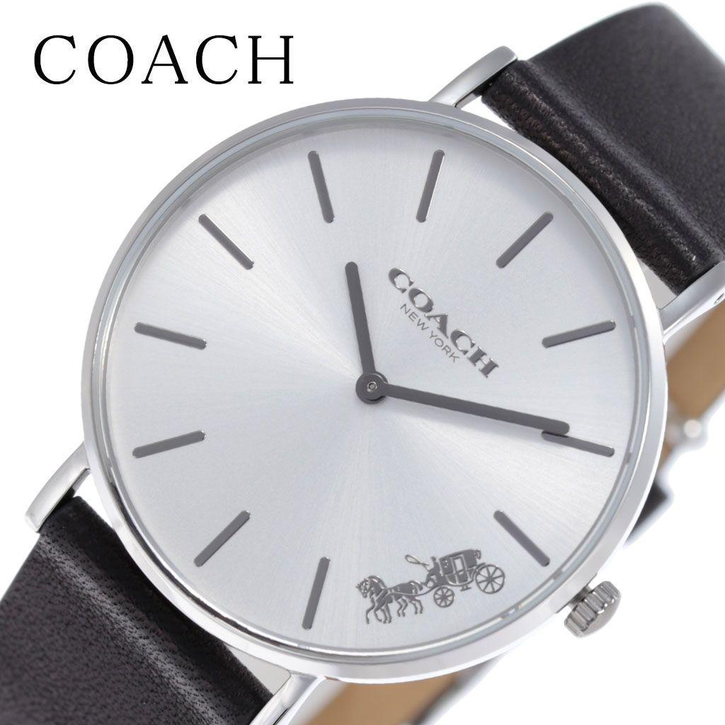[当日出荷] コーチ 腕時計 COACH 時計 ペリー PERRY レディース 腕時計 ホワイト シルバー 14503115 [ 人気 ブランド 女性 妻 彼女 嫁 おしゃれ ファッション カジュアル かわいい 流行 シンプル フォーマル 薄型 薄い 軽量 ] [ プレゼント ギフト 新生活 ]