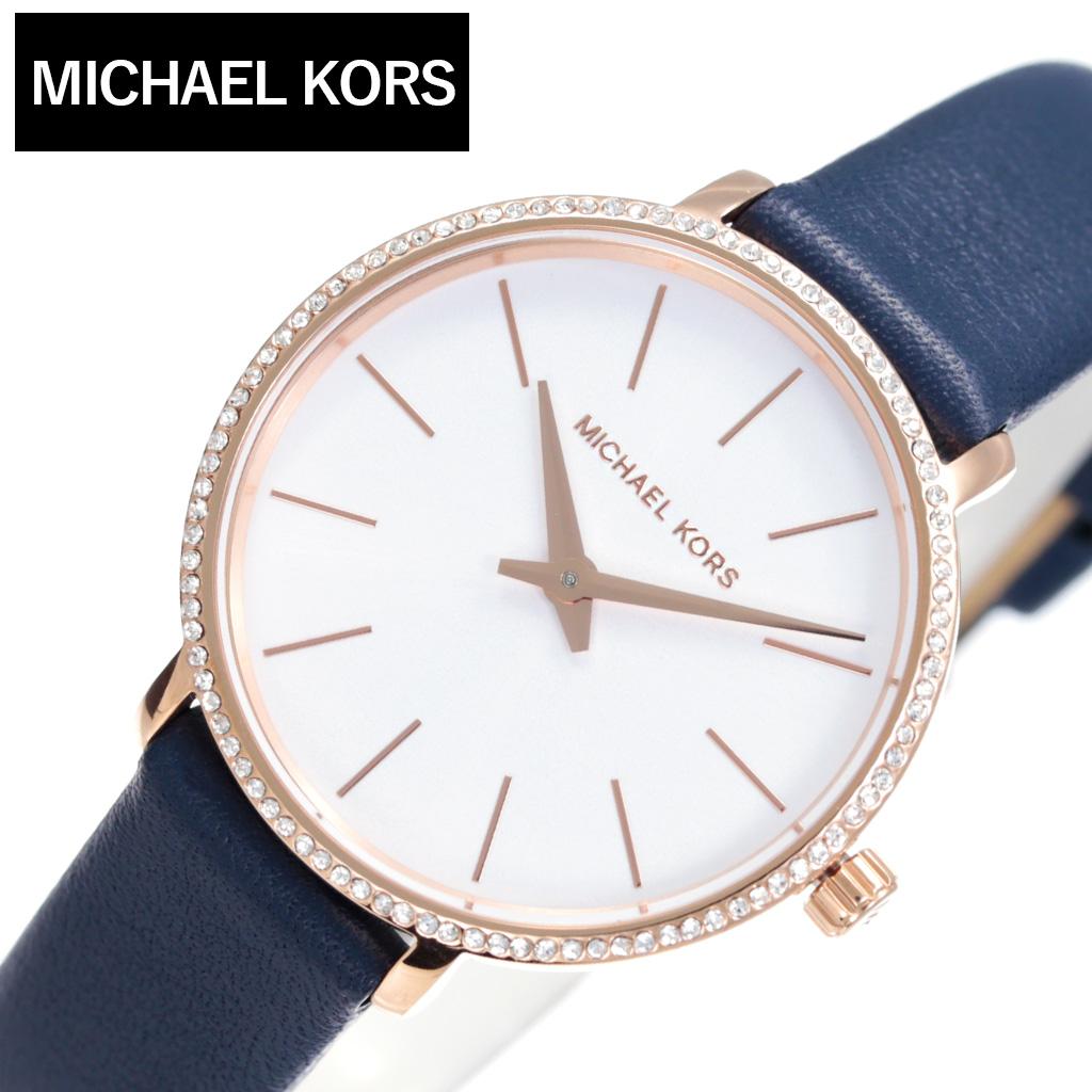 [1,620円引き][当日出荷] Michael Kors 腕時計 マイケルコース 時計 レディース 腕時計 ホワイト MK2804 [ 人気 ブランド MK おしゃれ ファッション かわいい カジュアル クリスタル 彼女 嫁 妻 ] [ プレゼント ギフト 新生活 ]