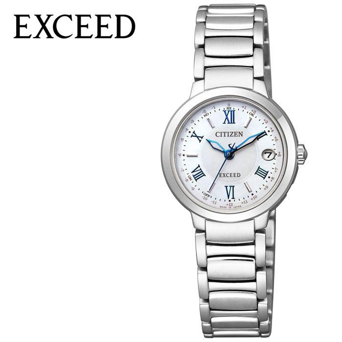 【延長保証対象】CITIZEN 腕時計 シチズン 時計 エクシード EXCEED レディース 腕時計 ホワイト ES9320-52W [ 人気 正規品 ブランド おすすめ 防水 蝶貝 パール パーフェックス 電波 ソーラー おしゃれ ファッション ][ プレゼント ギフト 新春 2020 ]
