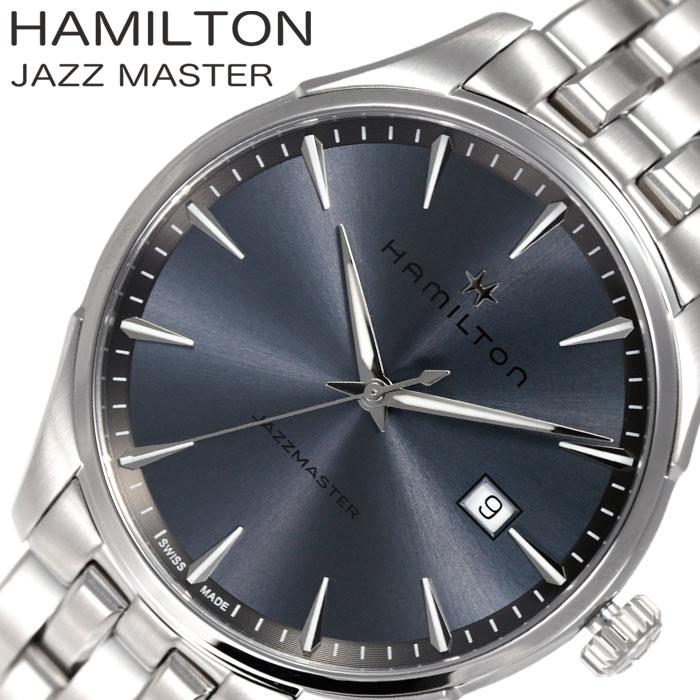 []ハミルトン 腕時計 HAMILTON 時計 ジャズマスター ジェント JAZZMASTER GENT メンズ グレー H32451142 [ 人気 ブランド おすすめ シンプル ファッション おしゃれ カジュアル スーツ フォーマル ビジネス 上品 プレゼント ギフト ]