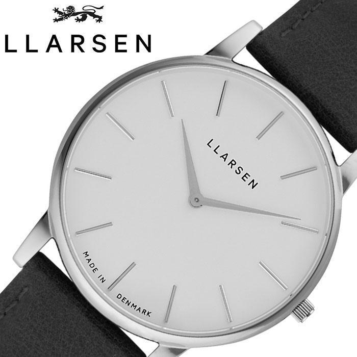 [当日出荷] エルラーセン 腕時計 LLARSEN 時計 オリバー Oliver メンズ ホワイト LL147SWBLL [ 人気 ブランド おすすめ 正規品 北欧 おしゃれ ファッション カジュアル ビジネス フォーマル デンマーク プレゼント ギフト ]