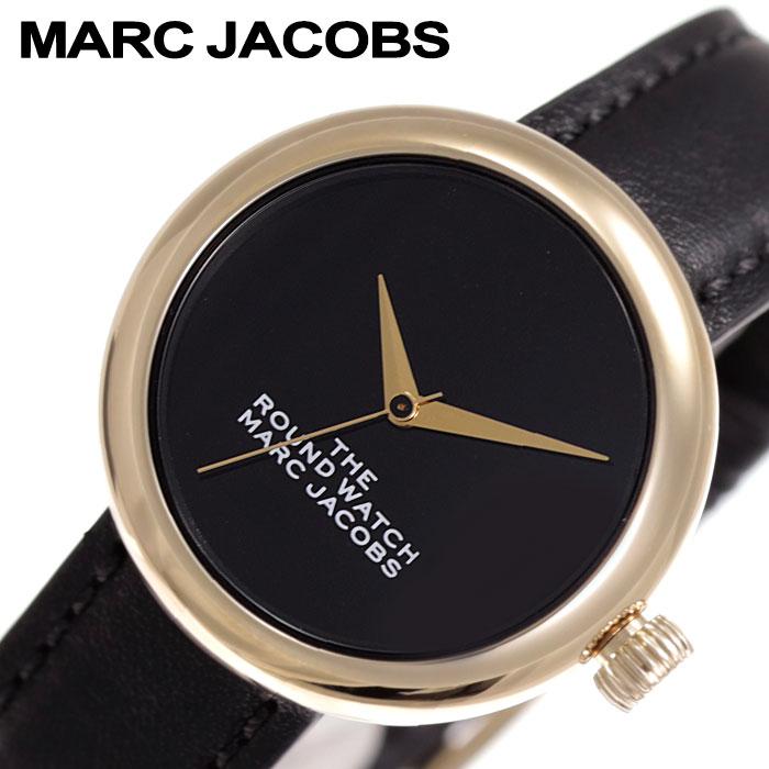 [2,782円引き][当日出荷] マークジェイコブス 腕時計 MarcJacobs 時計 ザ ラウンドウォッチ The Round Watch レディース ブラック MJ0120179282 [ 人気 ブランド シンプル マークバイマークジェイコブス おしゃれ ファッション カジュアル かわいい ギフト プレゼント ]