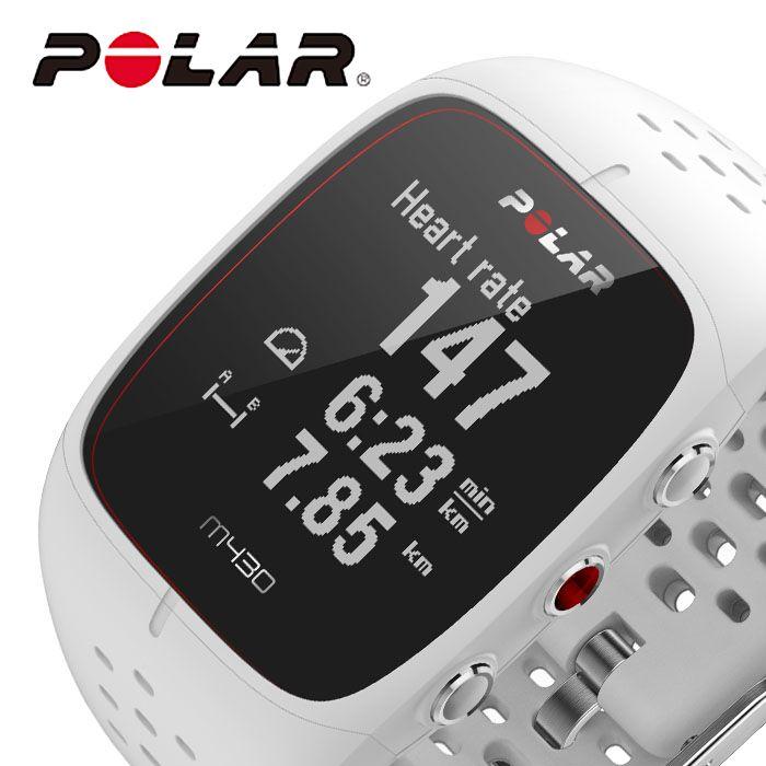 ポラール 腕時計 POLAR 時計 M430 レディース 液晶 POL-90067354 [ 人気 ブランド 正規品 防水 スマートウォッチ ランニング アウトドア スポーツ GPS 心拍計測 ジム トレーニング 筋トレ プレゼント ギフト ]