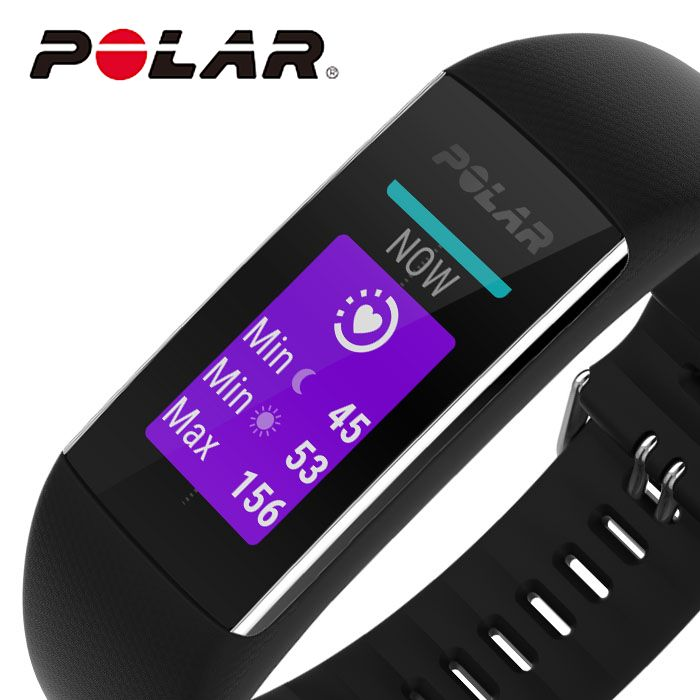 ポラール 腕時計 POLAR 時計 A370 レディース 液晶 POL-90071382 [ 人気 ブランド 正規品 防水 スマートウォッチ ランニング アウトドア スポーツ GPS 心拍計測 ジム トレーニング 筋トレ プレゼント ギフト ]