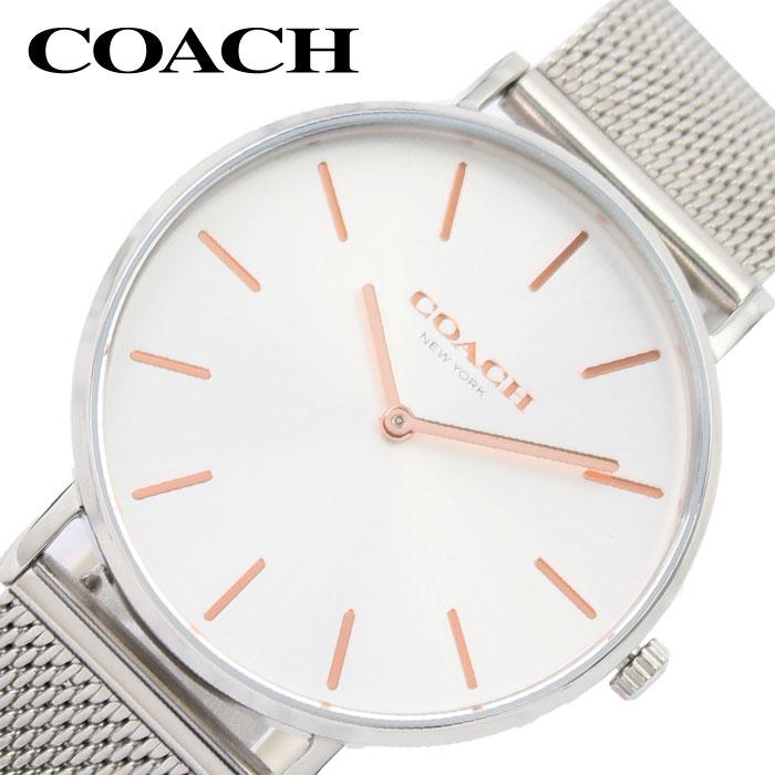 [当日出荷] COACH 腕時計 コーチ 時計 レディース 腕時計 ホワイト 14503297-SV [ 人気 ブランド おしゃれ カジュアル かわいい シンプル 薄型 軽量 ファッション 彼女 妻 プレゼント ギフト ]