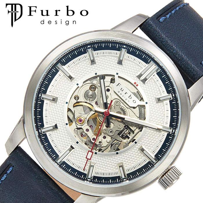 [当日出荷] フルボデザイン 腕時計 Furbodesign 時計 ポテンザ POTENZA メンズ ホワイト F8203SNVNV [ 人気 ブランド ファッション カジュアル スーツ ビジネス フォーマル スケルトン プレゼント ギフト ]