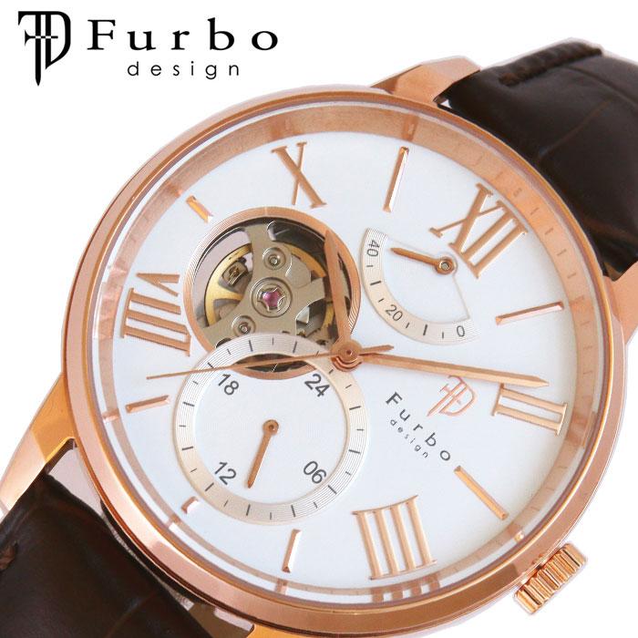 [当日出荷] フルボデザイン 腕時計 Furbodesign 時計 TIMENT メンズ ホワイト F8401WHDBR [ 人気 ブランド おしゃれ ファッション カジュアル スーツ ビジネス フォーマル 機械式 プレゼント ギフト ]